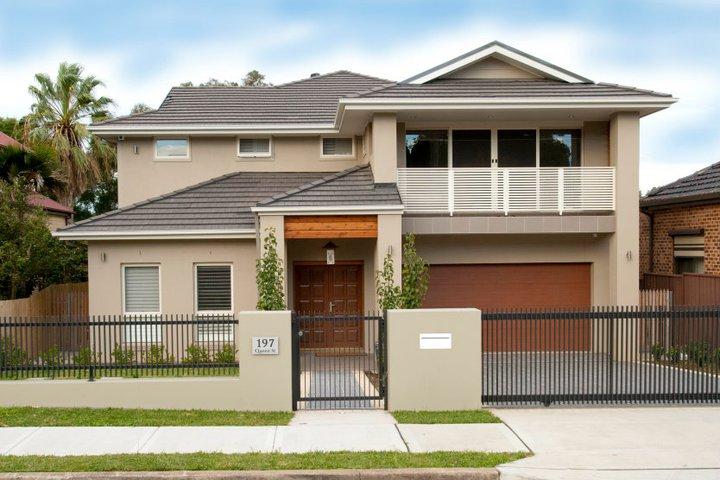 Modern front fence all scape - Modern home fence design ...